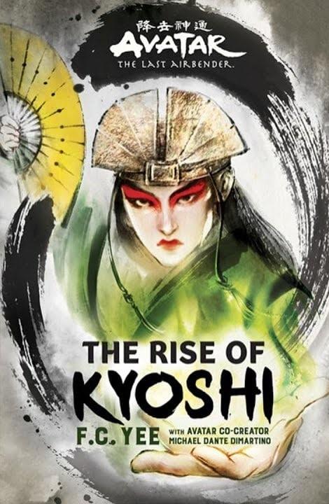 The Rise of Kyoshi: annunciato un nuovo romanzo su Avatar