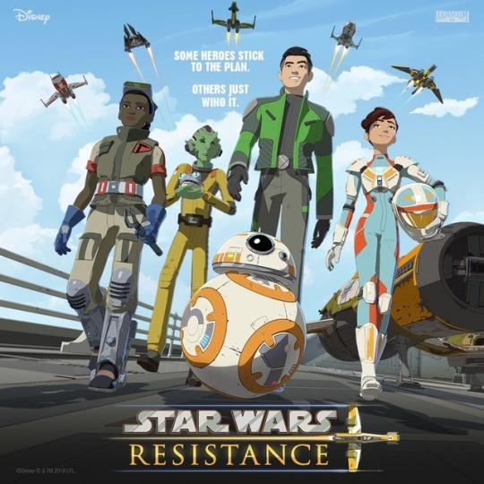 Star Wars Resistance non è proprio un anime (ma chissenefrega)