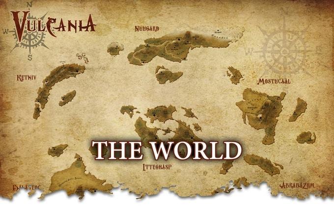 Vulcania: Lettura Quickstarter