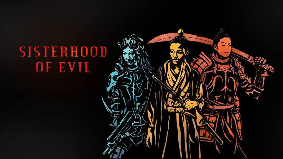 La copertina del gruppo Facebook Sisterhood of Evil