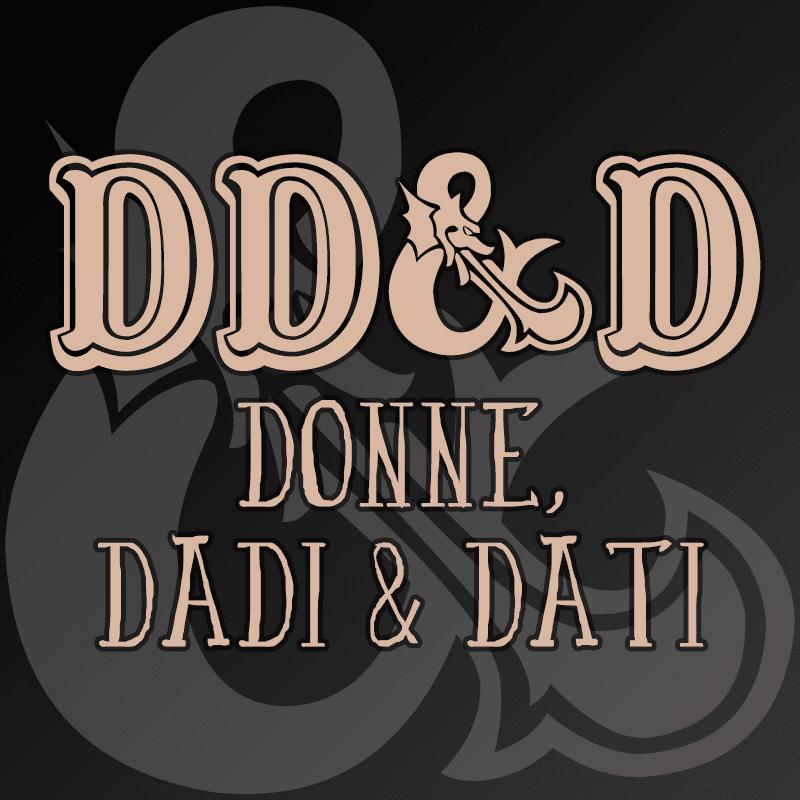 Il logo di Donne, Dadi & Dati