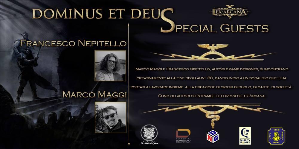 Presenza delle celebrità di Lex Arcana per Dominus et Deus