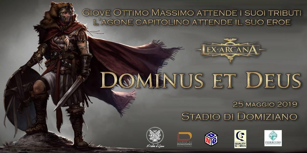 Dominus et Deus: Lancio Internazionale di Lex Arcana