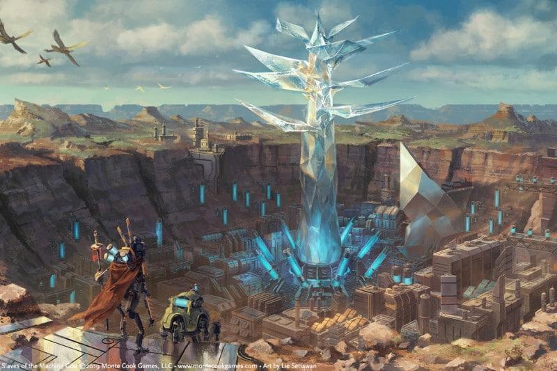Arcana of the Ancients, 5E e fantascienza insieme