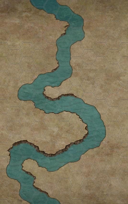 I bordi del fiume danno tutto un altro aspetto!
