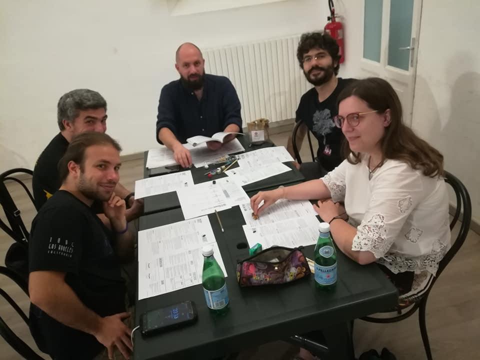 Il tavolo di Nightwitches!