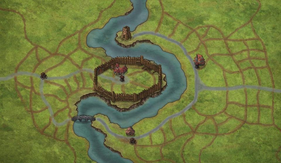 Ed ecco a voi il villaggio nei suoi edifici fondamentali! Pronti a finirlo?