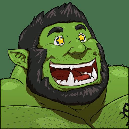 Un Big Gay Orc a caso da Several gay monsters