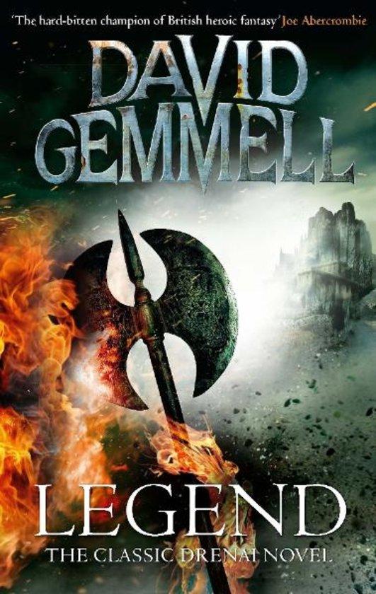 La copertina del primo, grande classico di Gemmell, Legend, La leggenda dei Drenai