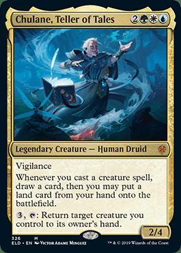 """La creatura leggendaria """"Chulane, Teller of Tales"""". Un druido molto arturiano..."""