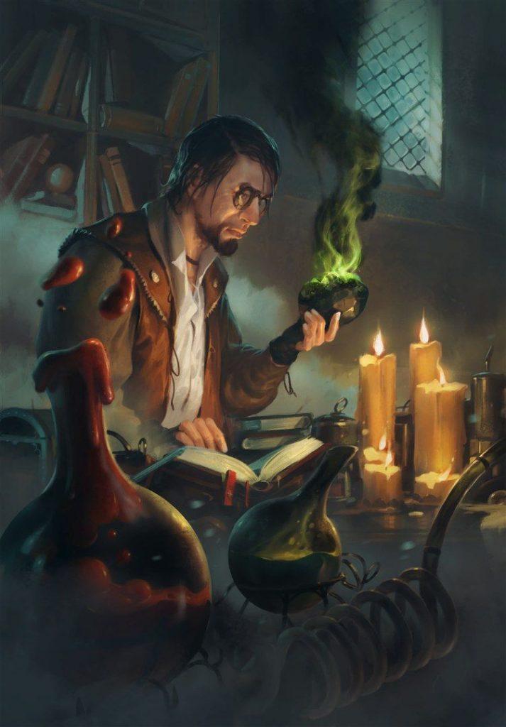 alchimia in Gwent