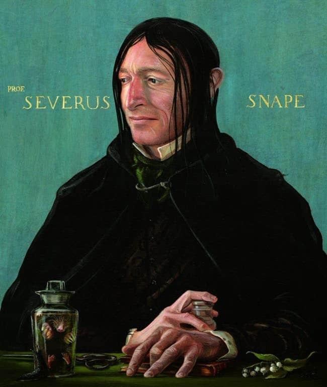 Comunque, se Severus Piton fosse stato esteticamente più fedele ai libri, e non Alan Rickman con una parrucca fresca di parrucchiere, avrebbe avuto molti meno fan
