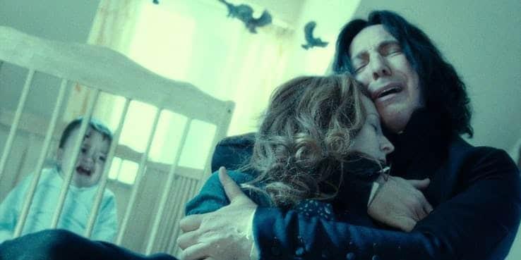 """""""Potter! Non vedi che sono in un momento difficile? Smetti di piangere!"""""""