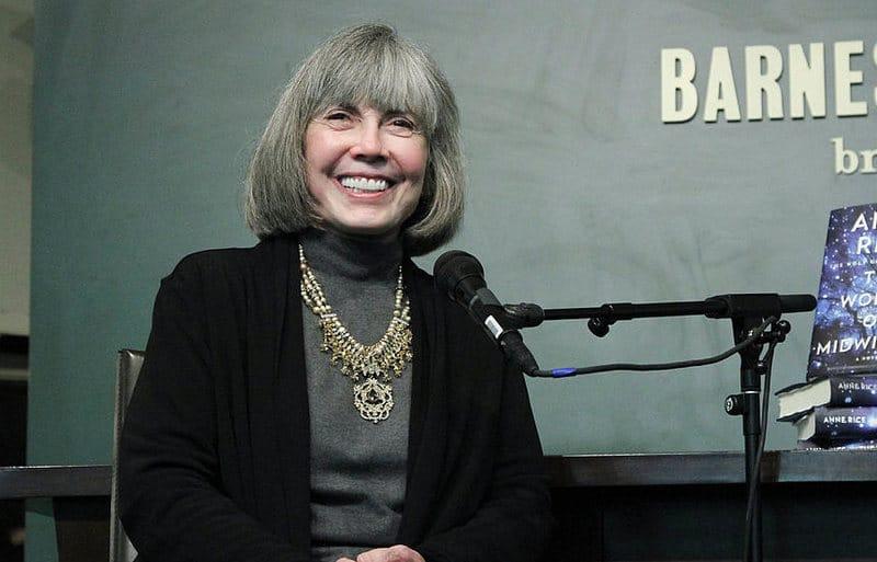 Anne Rice, la maggiore scrittrice contro le fanfiction. Foto di Rob Kim/WireImage