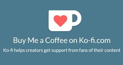Oppure, potete offrirci un caffè!