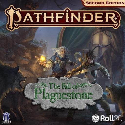 Copertina dell'adventure path The Fall of Plaguestone