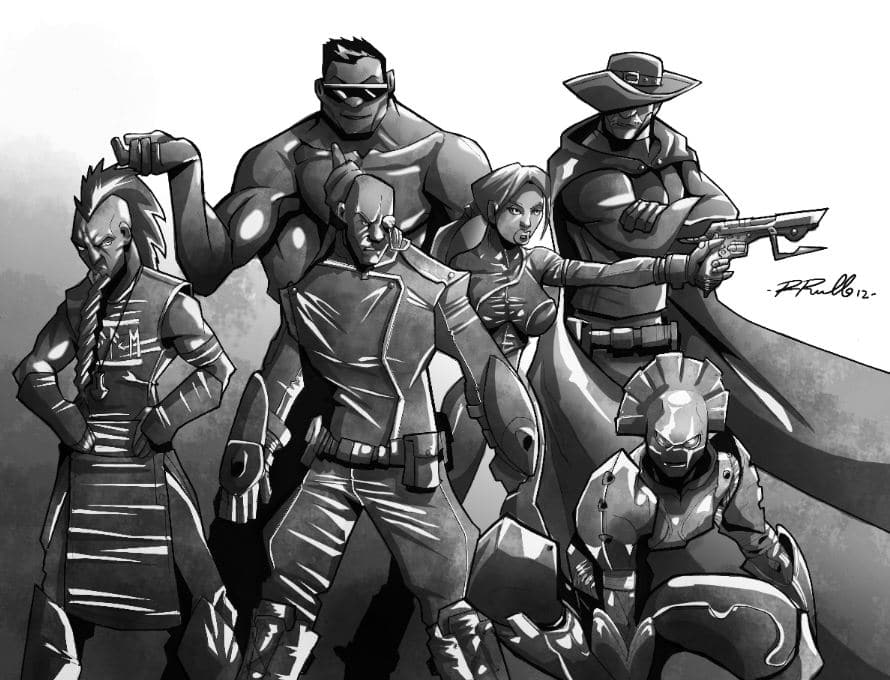La squadra di super eroi europea in tutto il suo europeo splendore!