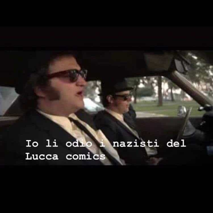 Anche i Blues Brothers odiano i nazisti