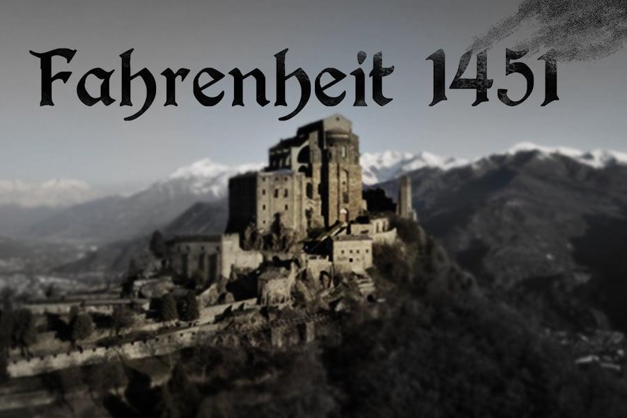 Fahrenheit 1451, una copertina alternativa