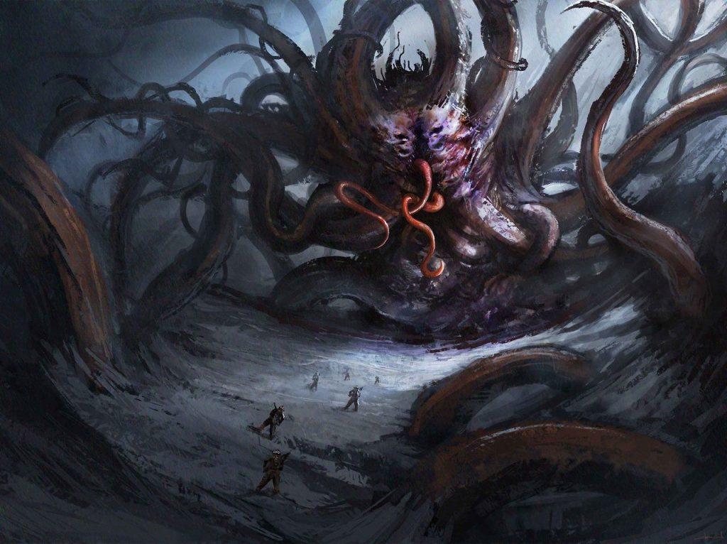 Shoggoth, come rappresentata nei Mostri dei Miti