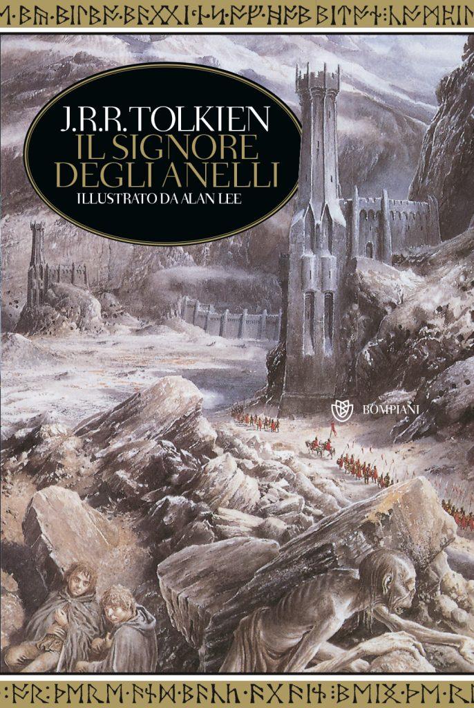 Una delle edizione de Il signore degli anelli con la traduzione di Vittoria Alliata (rivista da Quirino Principe)