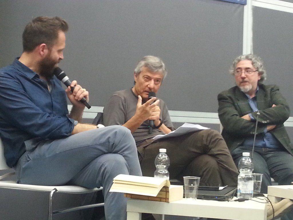 Ottavio Fatica e Roberto Arduini al Salone del Libro di Torino 2018