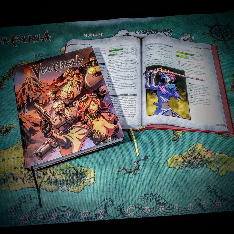 Manuali e Mappa di Vulcania
