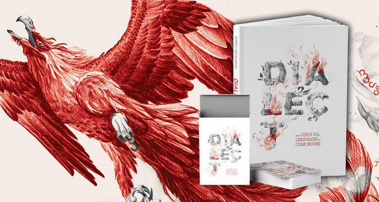 La copertina italiana di Dialect, uno del GdR da recuperare secondo la Cercatrice G