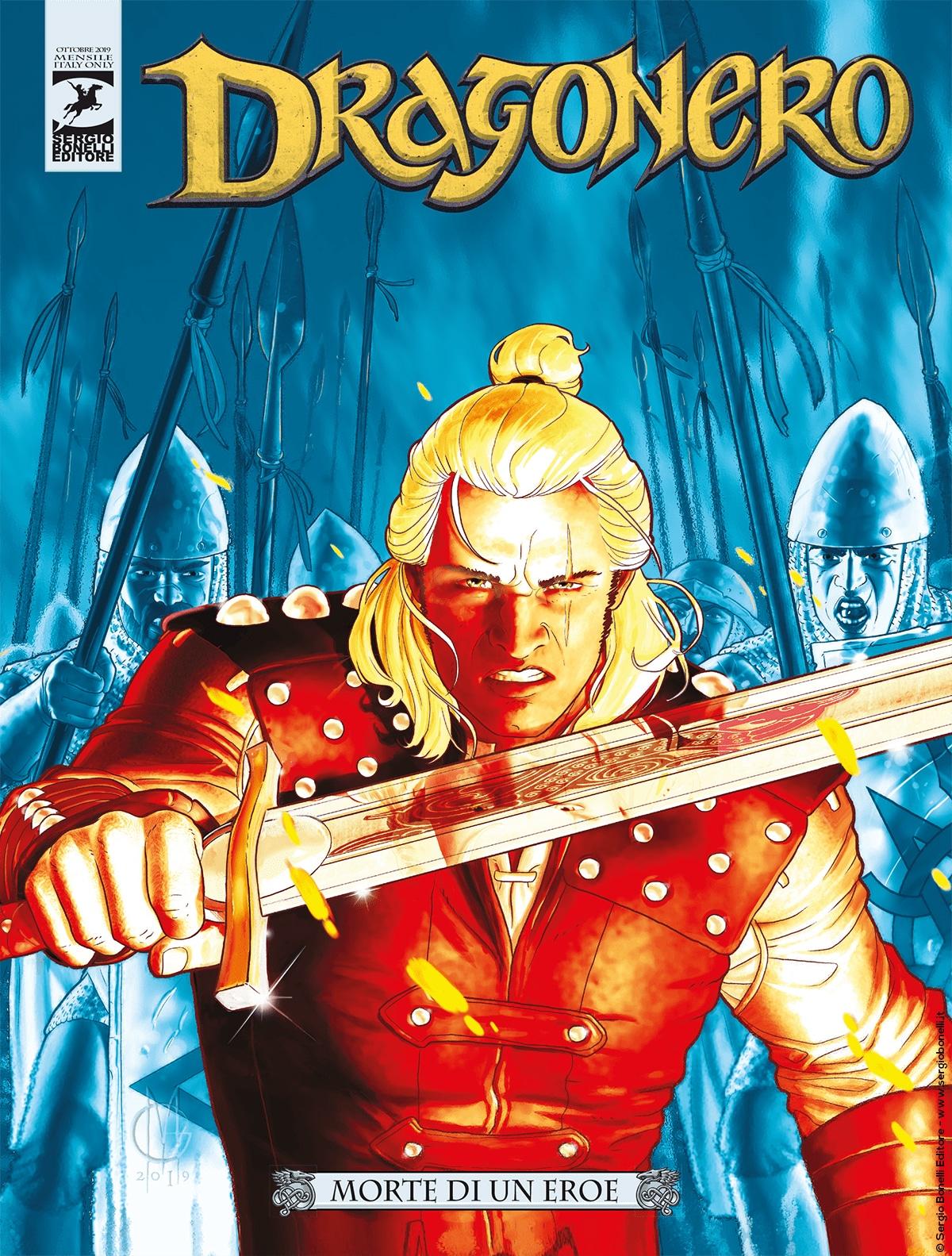 """Dragonero n° 77 """"Morte di un eroe"""""""