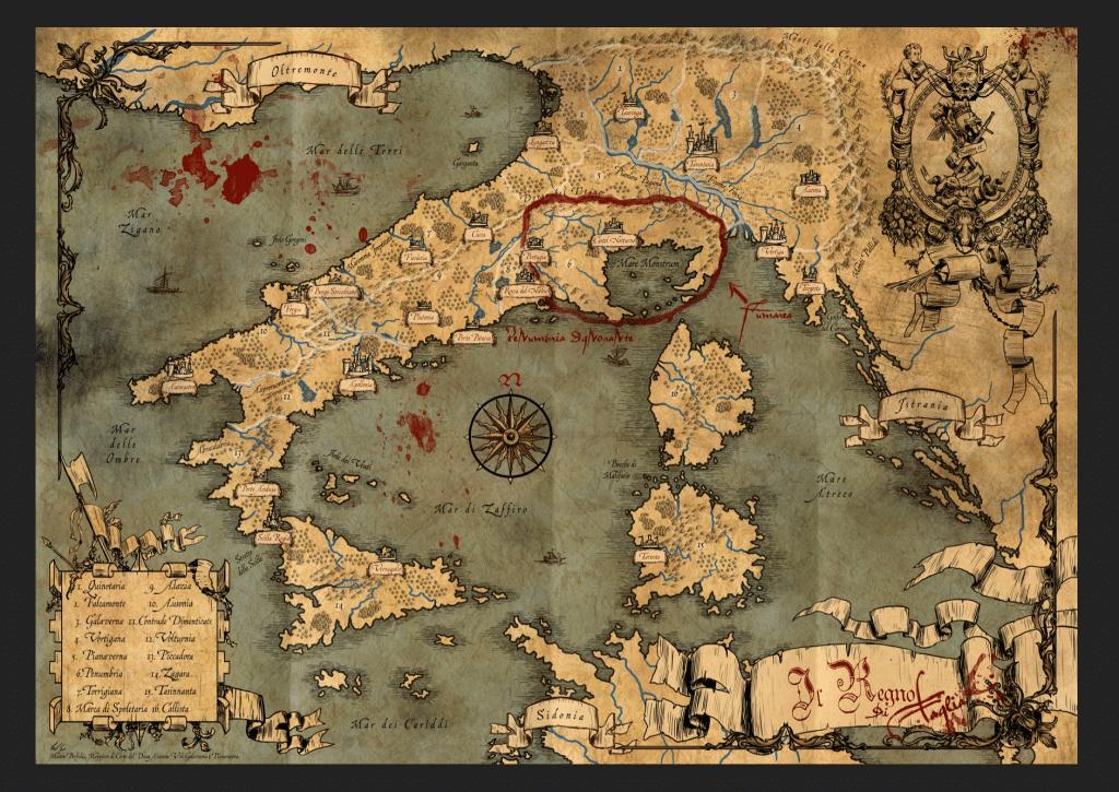 Mappa di Brancalonia