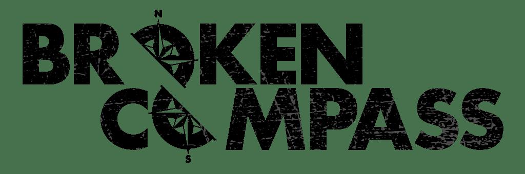 Il logo di Broken Compass, tra i  finalisti del Gioco di Ruolo dell'Anno 2021