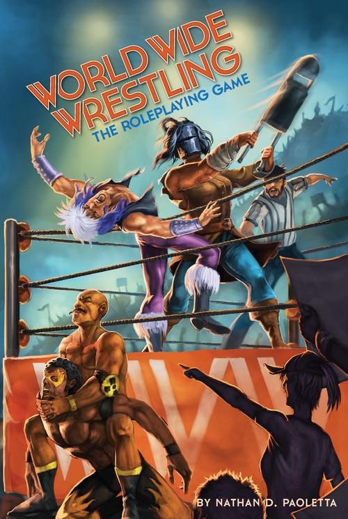 Copertina della prima edizione di World Wide Wrestling