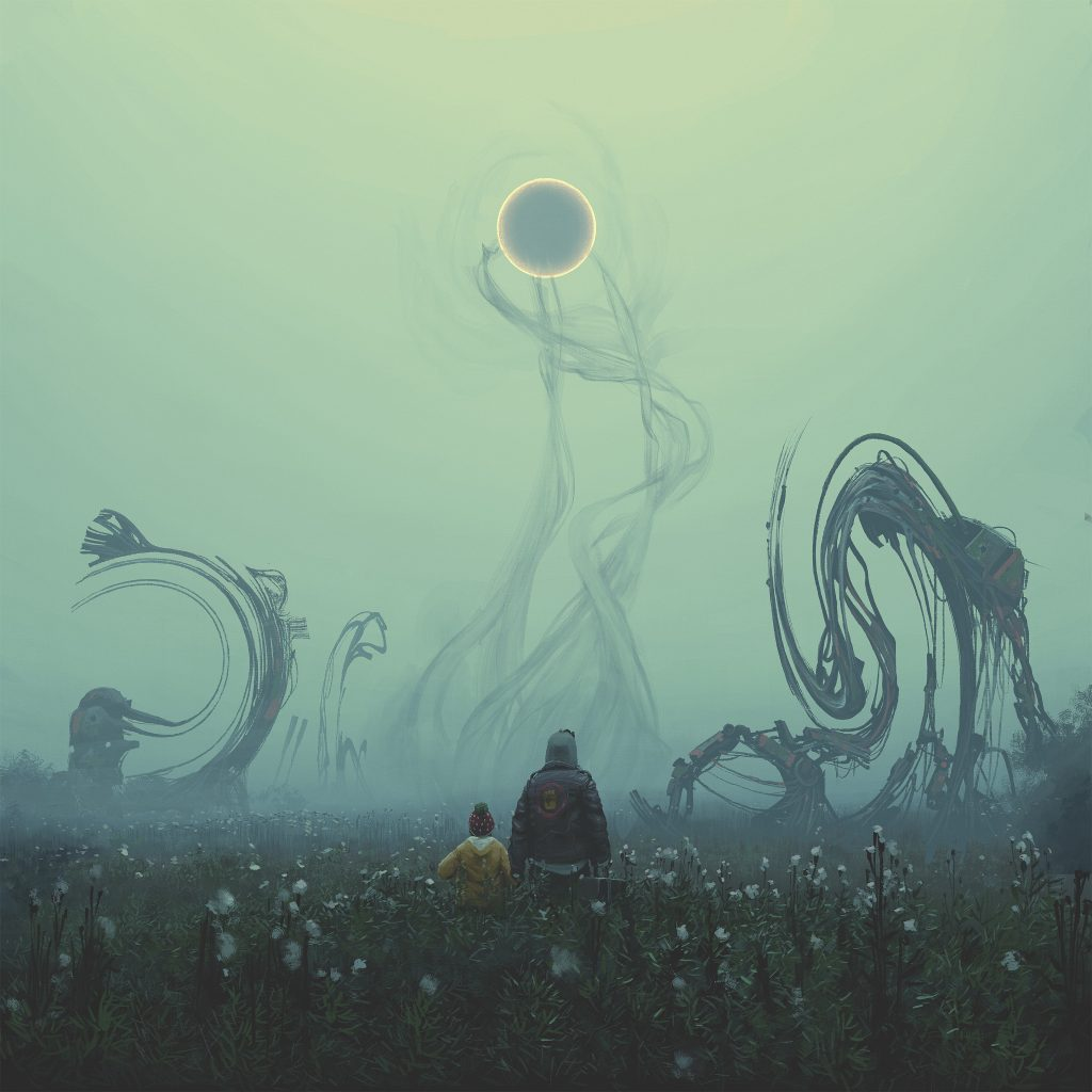Una delle illustrazioni di Simon Stålenhag