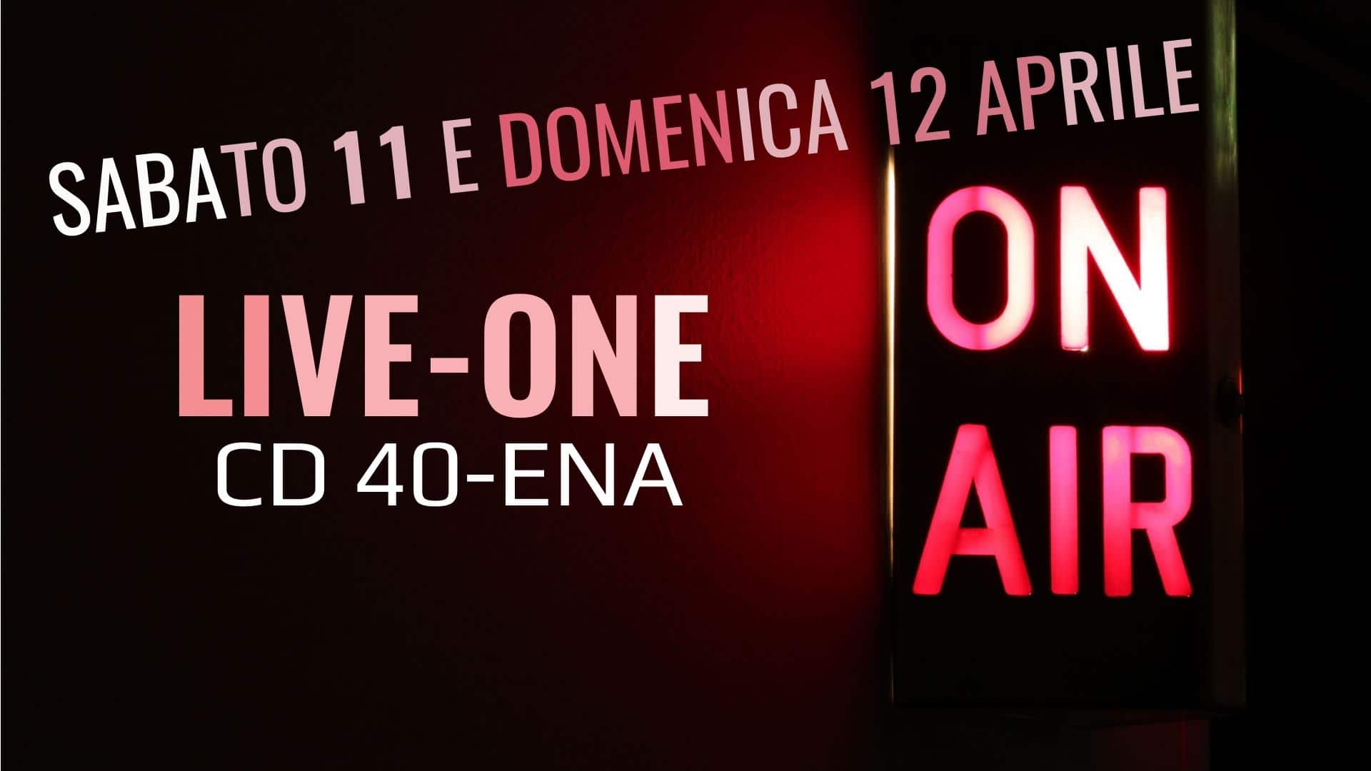 LIVE-ONE CD 40-ENA
