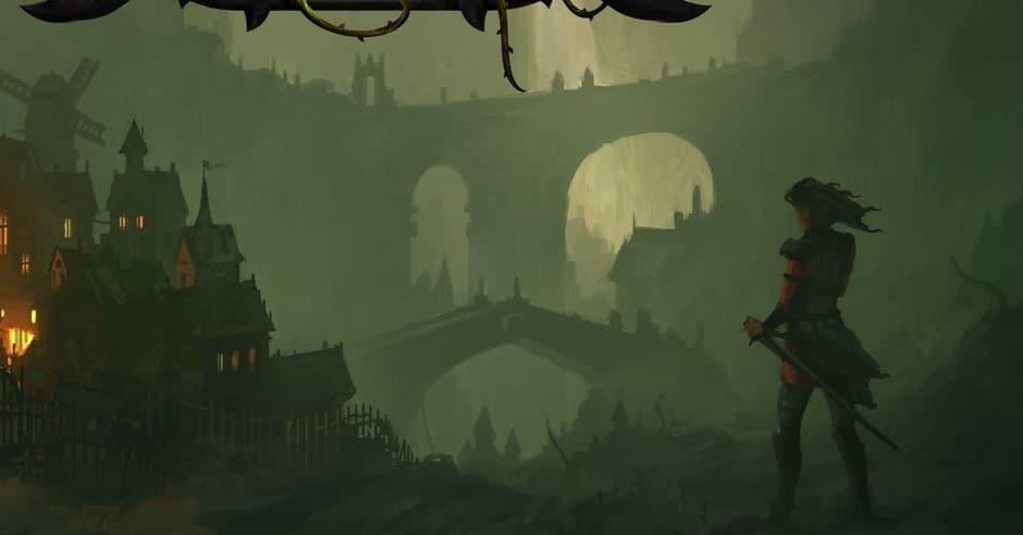 Una delle illustrazioni di Grim Hollow