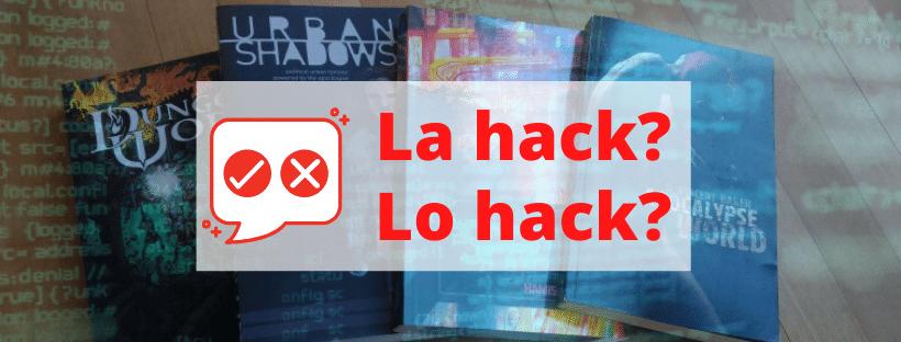 La hack o lo hack? Apostrofo sì o no? Un (altro) approfondimento linguistico