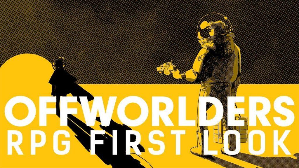 La copertina dell'edizione inglese di Offworlders