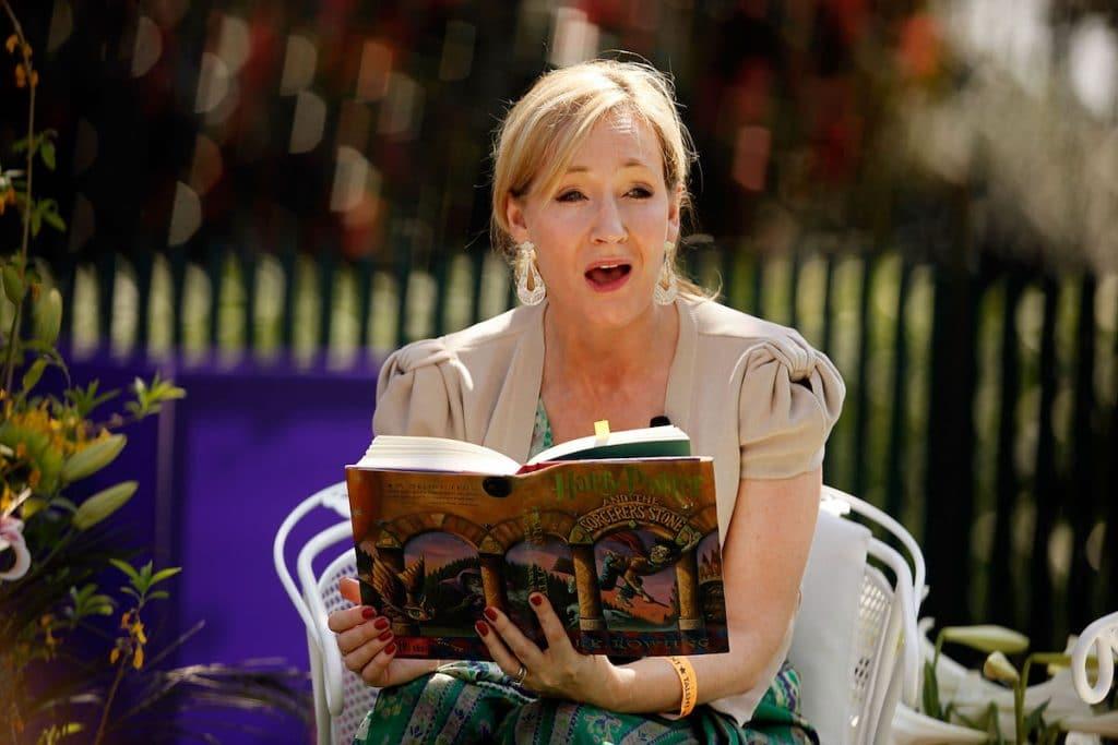 J. K. Rowling, a cui è indirizzata la lettera aperta del Gruppo Mermaids