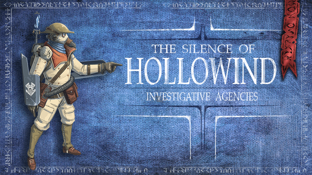 Investigative Agencies: l'espansione di The Silence of Hollowind è ora su Kickstarter!