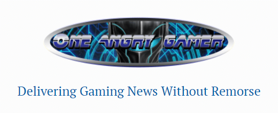 Il logo e il sottotitolo di One Angry Gamer. Mi chiedo se, qualora qualche grossa compagnia lo quereli per diffamazione, Billy D avrà rimorsi