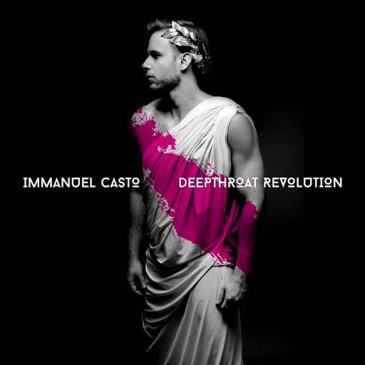 Immanuel Casto nella copertina del suo album poco politicamente corretto, Deepthorat Revolution
