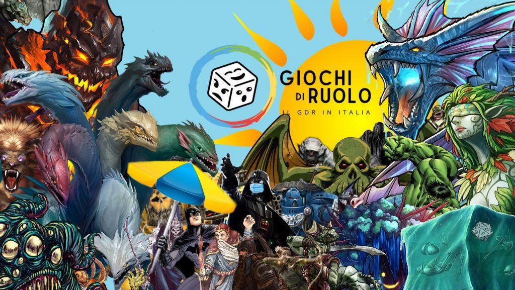 La copertina del gruppo Facebook Giochi di Ruolo – Il GdR in Italia (ex Player dei GDR)