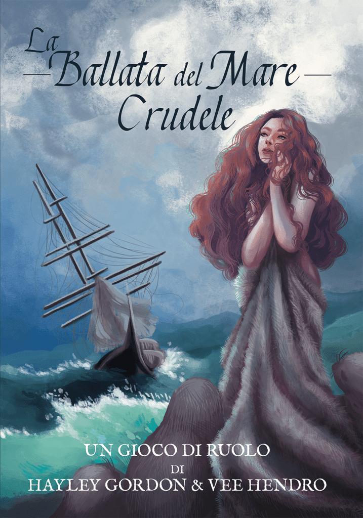 La copertina italiana de La ballata del mare crudele, disegnata da Anna Despina Koprantzelas