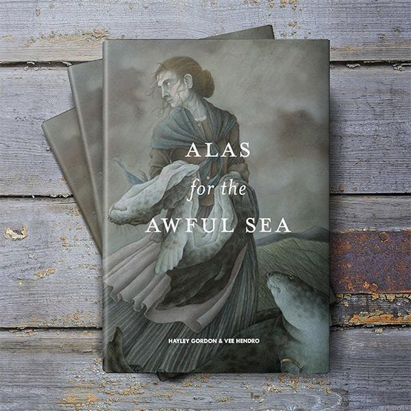 La copertina inglese de La ballata del mare crudele