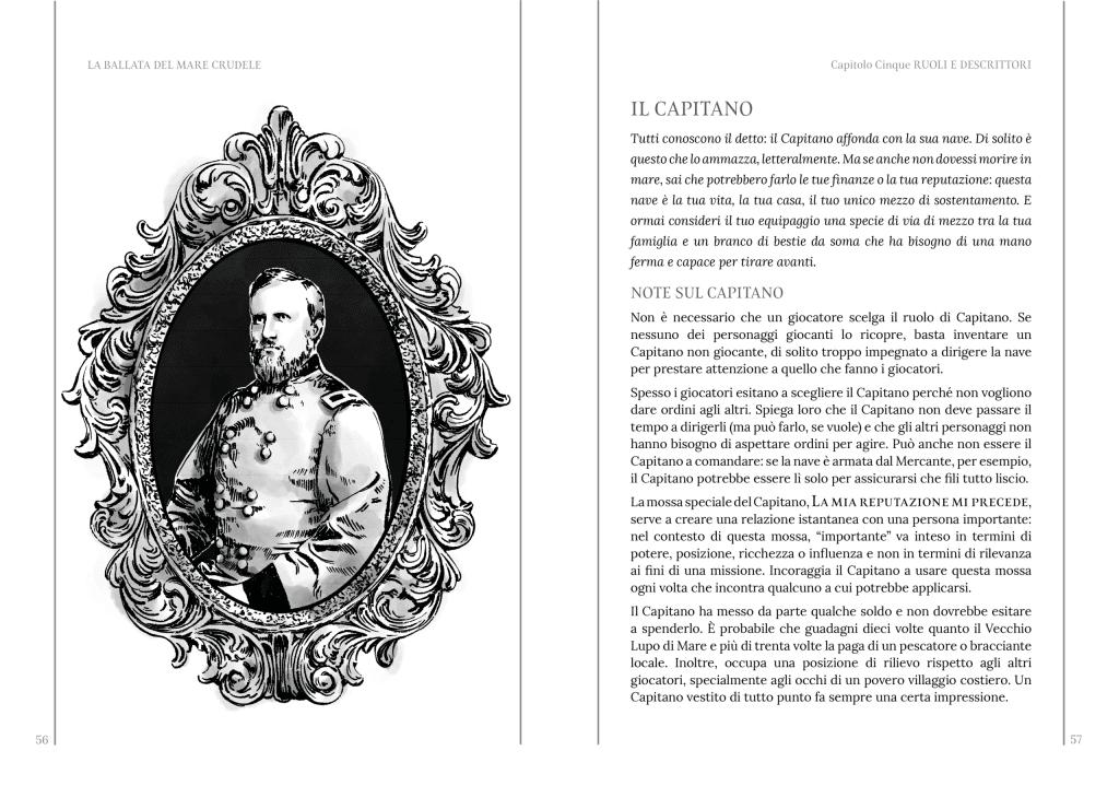 Uno dei libretti italiani de La ballata del mare crudele