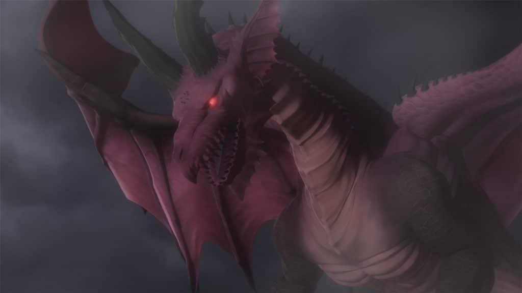 Un'Immagine tratta dalla serie Dragon's Dogma