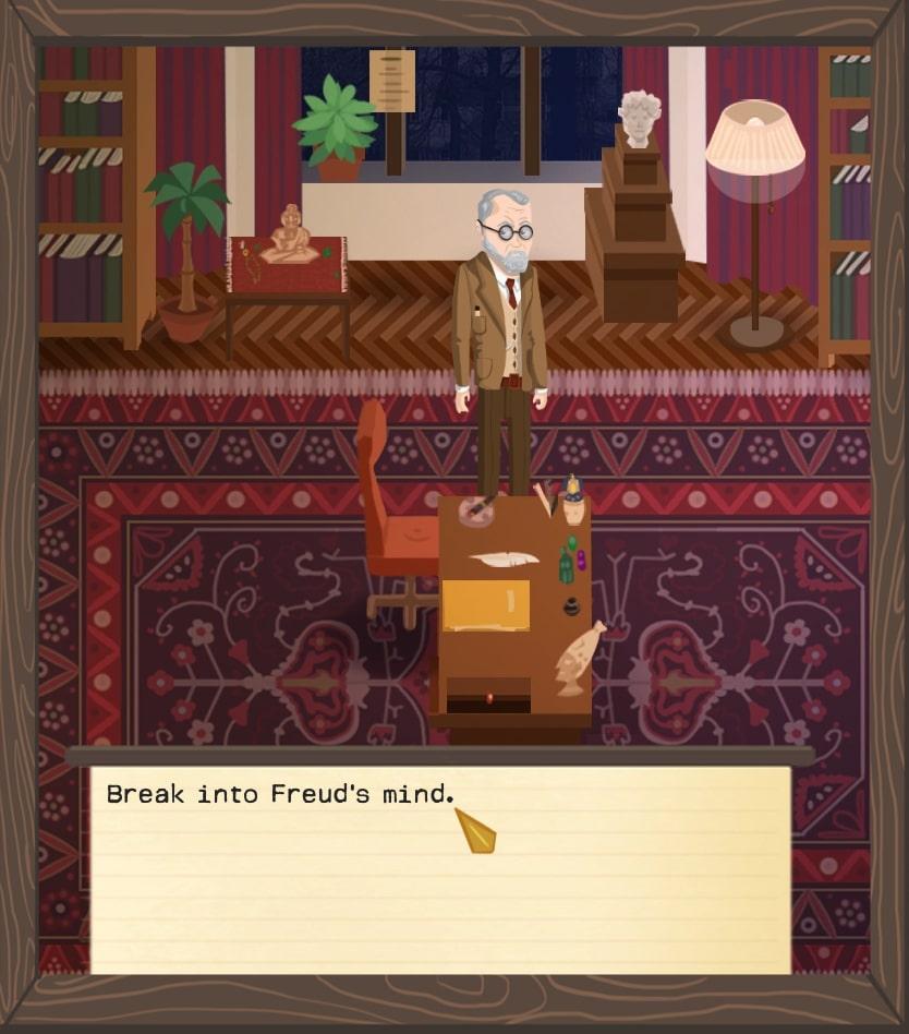 Una piccola immagine in game di Freud's Bones