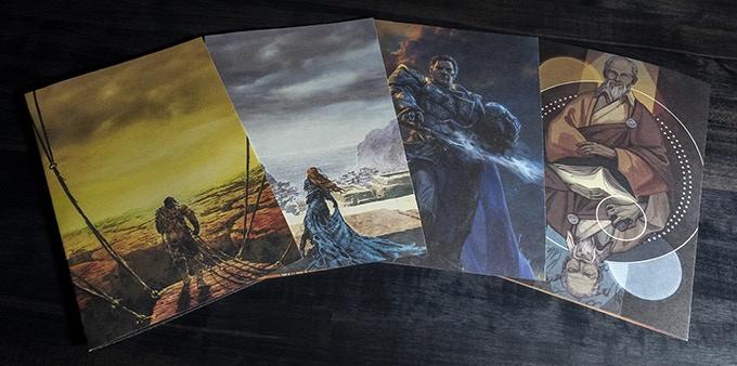 Alcune delle illustrazioni inedite che saranno integrate in The Way of Kings