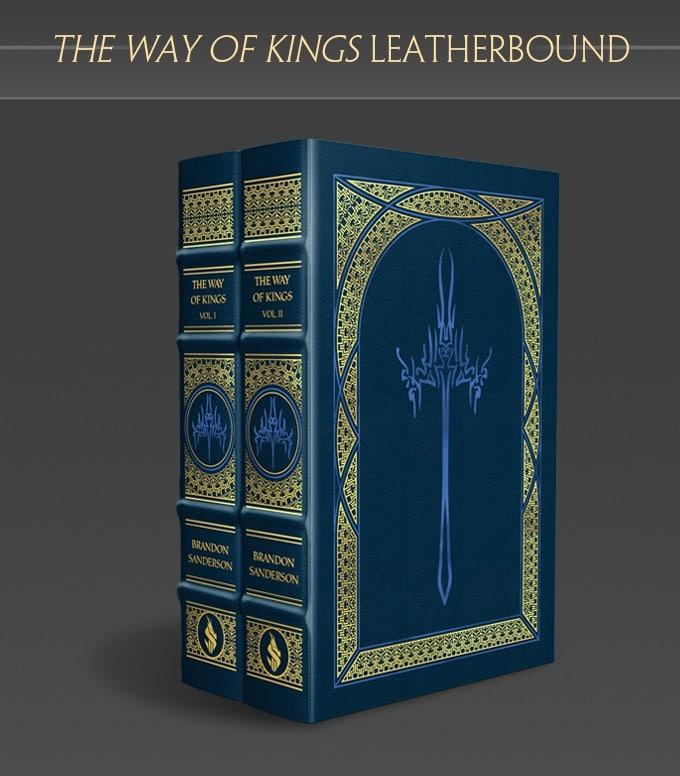 L'edizione speciale in pelle di The Way of Kings