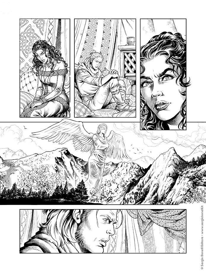 Zhabèle chiede aiuto a Ian contro la Signora delle Lacrime di Sangue. Dragonero dovrà affrontare il Dormiente